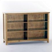 Horizontal Bookcase (Pecan) Product Image