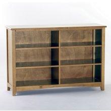 Horizontal Bookcase (Pecan)