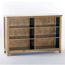 Horizontal Bookcase (Pecan)