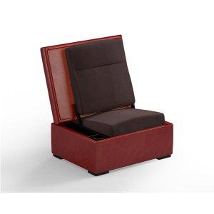 Salamander DesignsJumpSeat Ottoman, Cinnamon Cover / Root Beer Seat