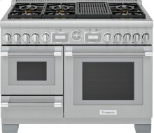 48-Inch Pro Grand® Commercial Depth Dual Fuel Steam Range