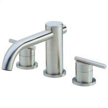 Brushed Nickel Parma® Three Piece Roman Tub Trim Kit