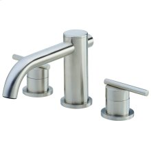 Brushed Nickel Parma® Three Piece Roman Tub Trim Kit