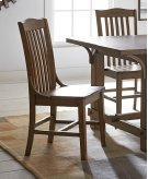 Dining Chair (2/Carton) - Medium Oak Finish Product Image