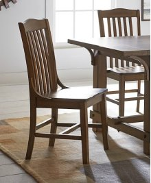 Dining Chair (2/Carton) - Medium Oak Finish