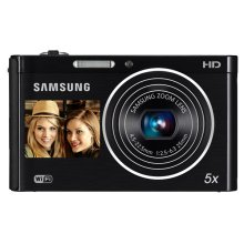 DV300F 16MP Dual LCD SMART Camera Wi-Fi (Black)