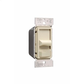 Wide Slide Series Dimmer, Ivory