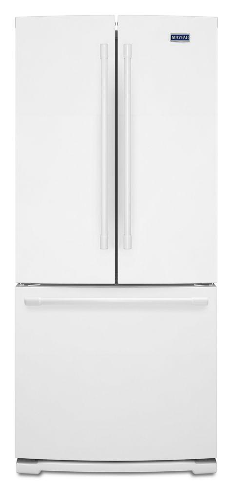 Superbe 30 Inch Wide French Door Refrigerator   20 Cu. Ft. Hidden