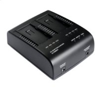 2 CHANNEL BATTERY CHARGER / AC ADAPTER