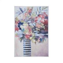 Striped Vase Still Life