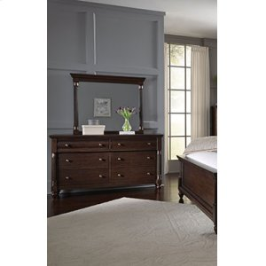 Oxford Queen Bed Dresser Mirror Nightstand