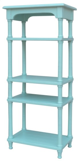 Island Display Shelf- Aqu