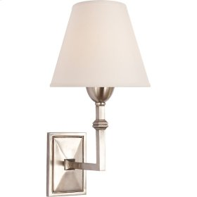 Visual Comfort AH2305AN-NP Alexa Hampton Jane 1 Light 7 inch Antique Nickel Decorative Wall Light