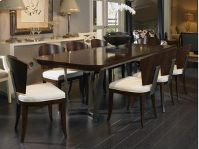 Guardian Dining Table With Metal Base
