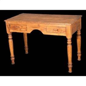 Antique Wooden Desk 41x21x30