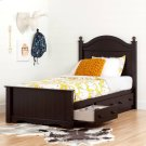 Complete Storage Bed with Headboard and 3 Drawers - 39'' Product Image