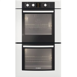 "Bosch30"" Double Wall Oven 500 Series White HBL5620UC DISCONTINUED"