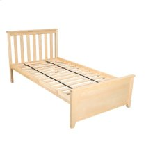 Twin Bed Natural