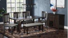 American Rustics Uph Dining Bench