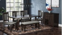 American Rustics Uph Dining Bench