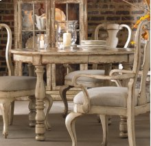 "Wakefield Round Leg Dining Table w/1-21"" leaf"