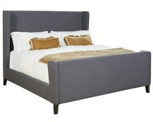 Chalkboard Profile Upholstered King Bed
