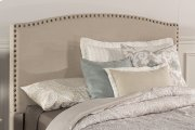 Kerstein Fabric Headboard - King - Headboard Frame Not Included - Lt Taupe Product Image