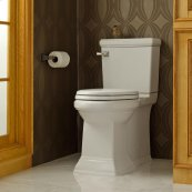 Town Square Right Height Elongated Toilet with Right Hand Trip Lever  American Standard - White
