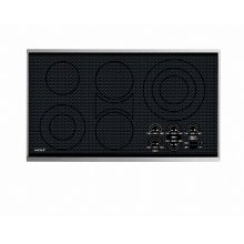 "CLOSEOUT ITEM: 36"" Electric Cooktop - Framed"