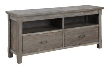 Emerald Home Paladin Entertainment TV Console-rustic Charcoal E350