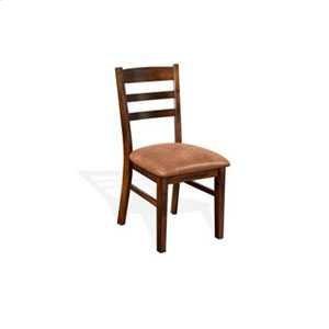 Santa Fe Ladderback Chair w/ Cushion Sea