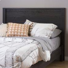 Headboard - Modern Style - Gray Oak