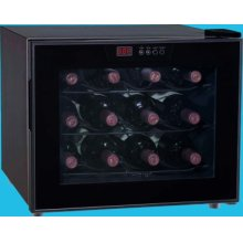 Up to 12-Bottle Capacity Thermal Electric Wine Cellar