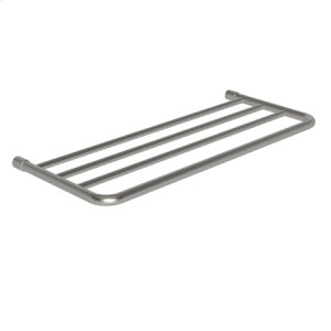 "Polished Nickel 24"" Hotel Shelf Frame"