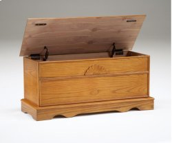 Cedar Box With Lid - Oak