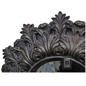 Antique Silver Decorative Resin Mirror