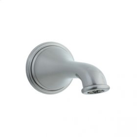 Asbury Cast Brass Tub Filler Spout - Brushed Nickel