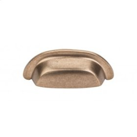 Aspen Cup Pull 3 Inch (c-c) - Light Bronze