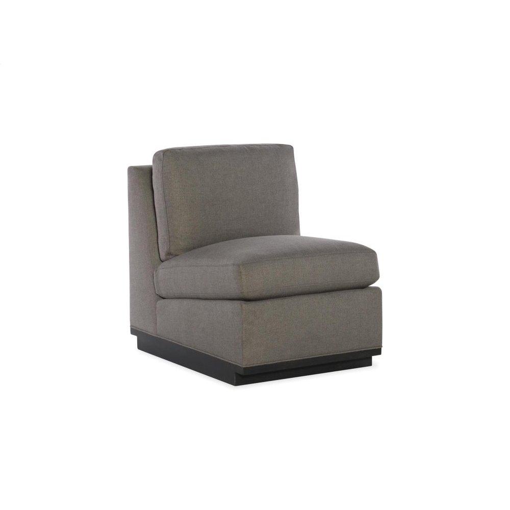 Rustin Armless Chair Sectional