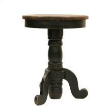 Black/Walnut Recepcion End Table