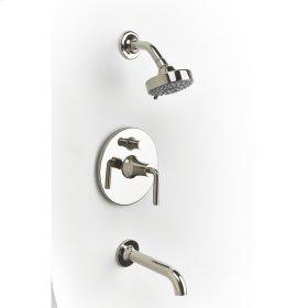Polished Nickel River (Series 17) Tub and Shower Trim