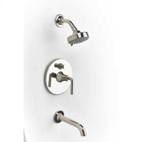 Polished Nickel River (Series 17) Tub and Shower Trim