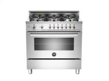 Stainless 36 6-Burner LPG, Gas Oven