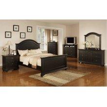 Brook Black Bedroom