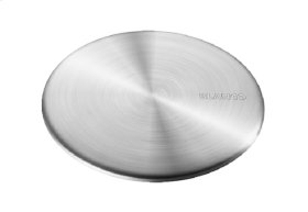"""3 1/2"""" Capflow Strainer Cover Stainless Steel (fits All Blanco Strainers) - 517666"""