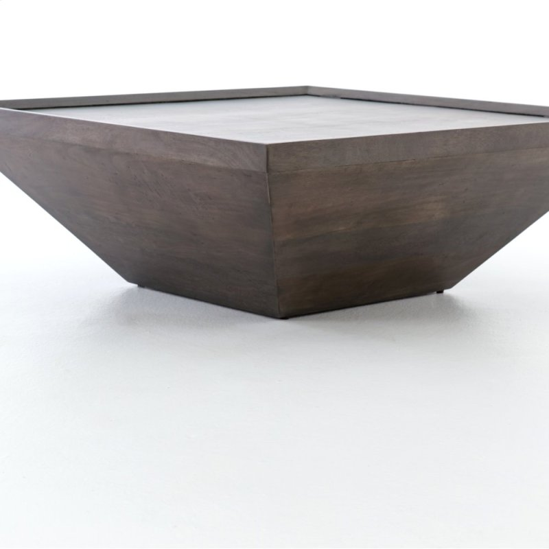IHRMA In By Four Hands In Tillamook OR Coal Grey Finish Drake - Drake coffee table