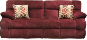 Power Headrest w/Lumbar Power Reclining Sofa
