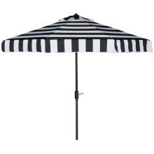Elsa Fashion Line 9ft Umbrella - Black / White