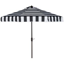Elsa Fashion Line 9ft Umbrella - Black / White