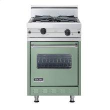 "Mint Julep 24"" Wok/Cooker Companion Range - VGIC (24"" wide range with wok/cooker, single oven)"